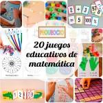 20 juegos educativos para aprender matemática