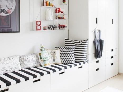 Muebles infantiles. Personalizar la linea Stuva de Ikea