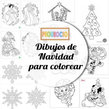 Dibujos para colorear ¡de Navidad!