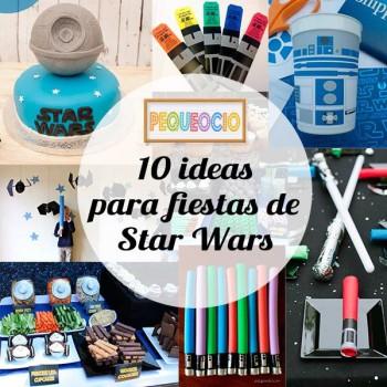 10 ideas para fiestas infantiles de Star Wars