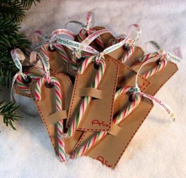 5 etiquetas para regalos de Navidad