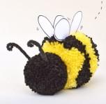 5 manualidades con lana ¡pompones!