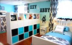 Cómo dividir habitaciones infantiles compartidas