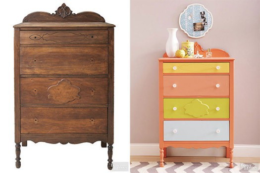 Decoración infantil, cómo modernizar muebles viejos