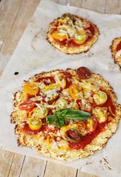 Pizza vegetal, 4 recetas fáciles