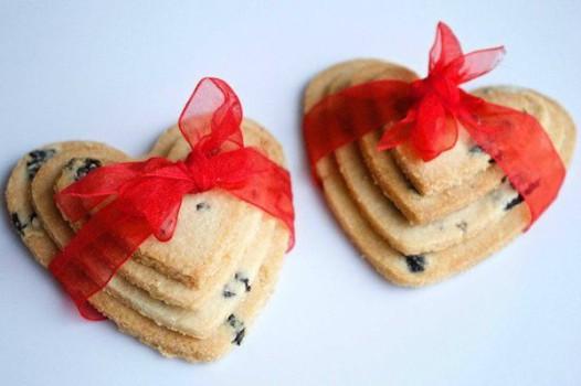 San Valentín, recetas en forma de corazón