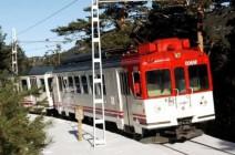 Viaje en tren con niños en el Parque de la Guadarrama