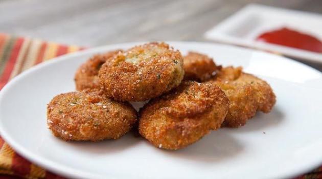 Recetas con verduras, ¡ricos nuggets!