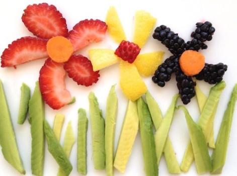 5 recetas para niños ¡floridas!