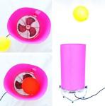 Experimentos para niños, globo danzarín