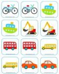Juegos de memoria para niños, 5 ideas para imprimir