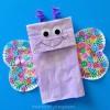 4 manualidades infantiles ¡de mariposas!
