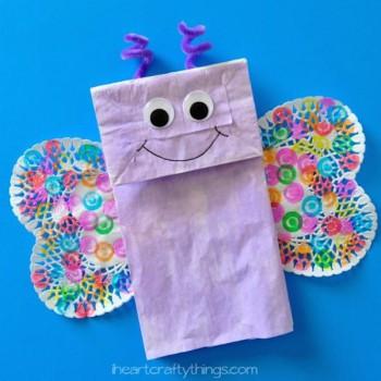 4 manualidades para niños ¡de mariposas!