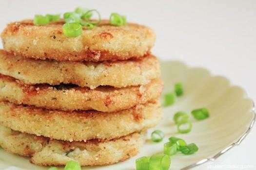 Recetas de verduras, 4 tortitas saladas