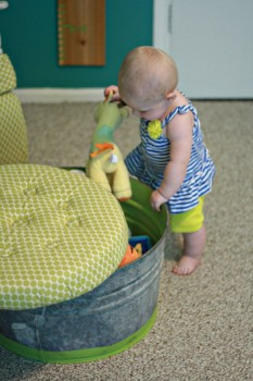 Decoración infantil: 5 jugueteros originales y caseros