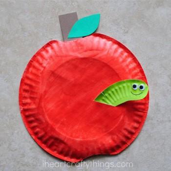 5 manualidades para niños con platos desechables