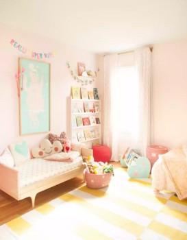 Decoración infantil, 5 rincones de lectura