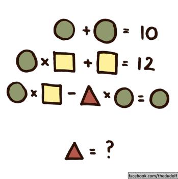 Nuevo acertijo matemático ¡resuélvelo con los niños!