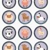 Imprimibles gratis para fiestas infantiles ¡de animales!