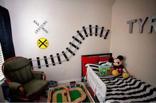 6 habitaciones infantiles ¡de trenes!