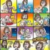 10 ilustraciones graciosas para padres