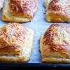 Recetas para niños, pizza rellena de jamón y queso