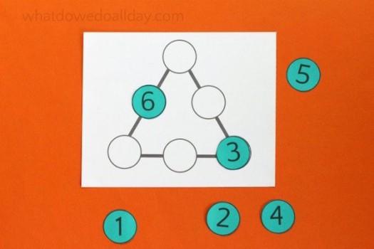Puzzle matemático para niños ¡desafía a tus peques!