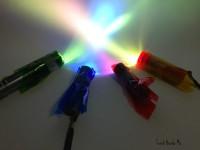 Experimentos caseros, los colores y la luz