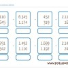 24 fichas de matemáticas para descargar gratis