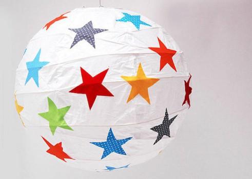 5 ideas para personalizar lámparas de papel