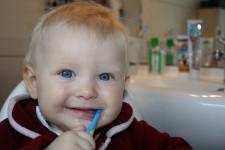 Manualidad para aprender a lavarse los dientes