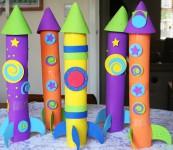 5 manualidades para niños con churros de piscina