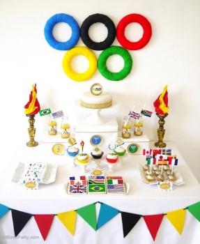 Fiestas infantiles ¡de los Juegos Olímpicos!