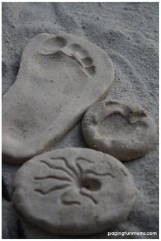 Plastilina casera, cómo hacer pasta de arena