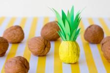 6 manualidades para niños con nueces