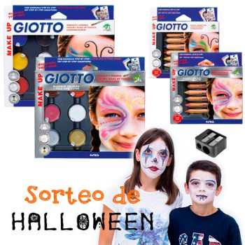 Maquillaje para Halloween: ¡gana un lote de Giotto!