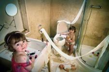 Cosas que los niños hacen cuando te distraes