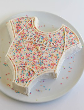 3 tartas fáciles para Baby Shower