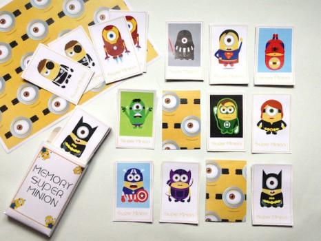 4 juegos de memoria gratis ¡para imprimir!