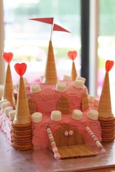 Cómo hacer tartas de cumpleaños fáciles: ¡un castillo!