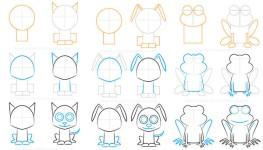 Cómo dibujar… ¡animales fáciles!
