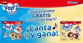 ¡Demuestra tu talento cantando con Bollycao® VAP's!