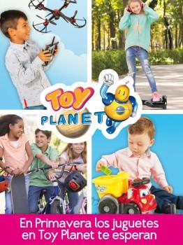 ¡Toy Planet te regala 2 cheques de 60€ para gastar en sus tiendas!