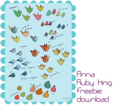 Láminas gratis para habitación infantil