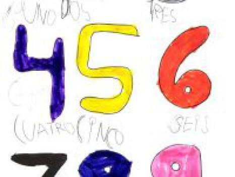 Canción de los números