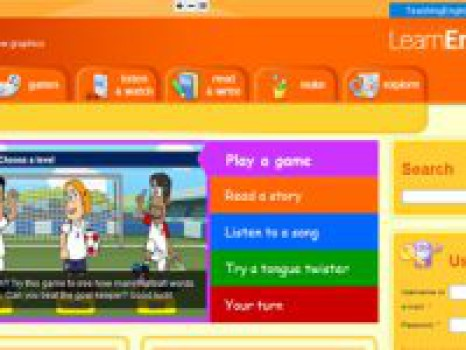 Inglés para niños con LearnEnglish Kids