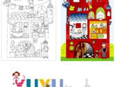¡Los dibujos para colorear más creativos!