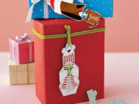 Etiquetas de Navidad gratis