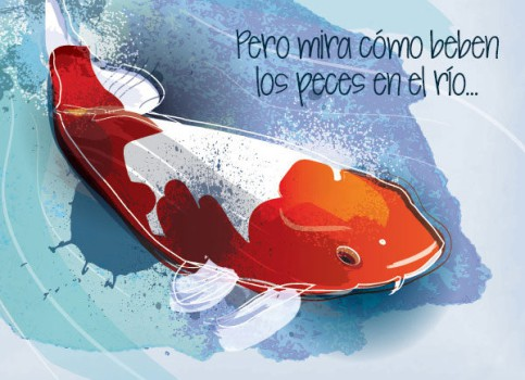 """Villancico de Navidad """"Los peces en el río"""""""