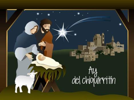 "Villancico de Navidad ""Ay del chiquirritin"""